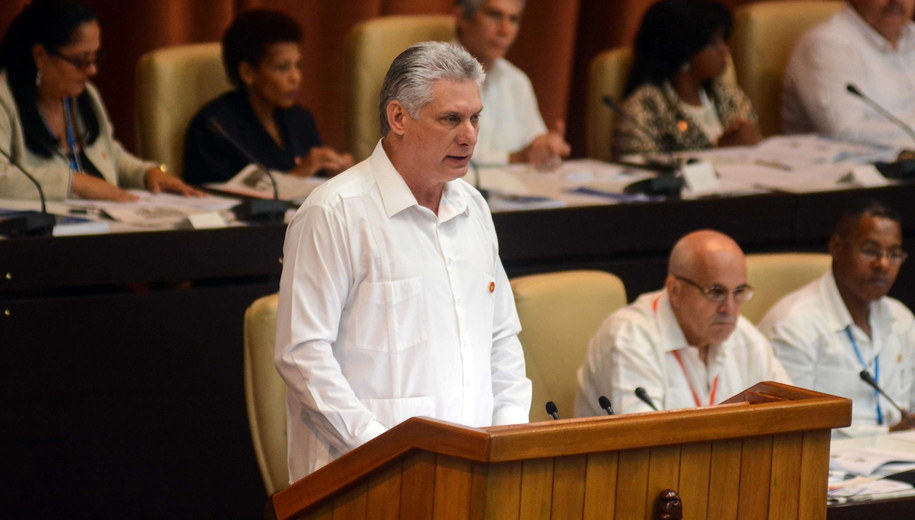 Miguel Diaz-Canel /Abel Padilla /PAP/EPA