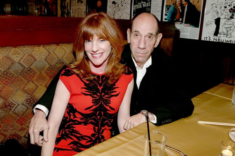 Miguel Ferrer z żoną Lori Weintraub /Jonathan Leibson /Getty Images