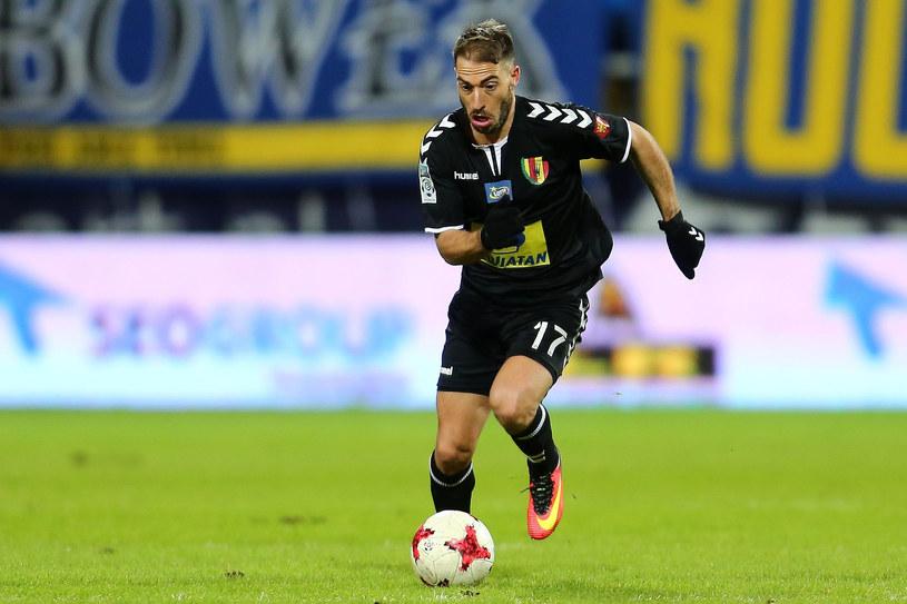 Miguel Palanca już nie jest piłkarzem Korony Kielce /Fot. Piotr Matusewicz /East News