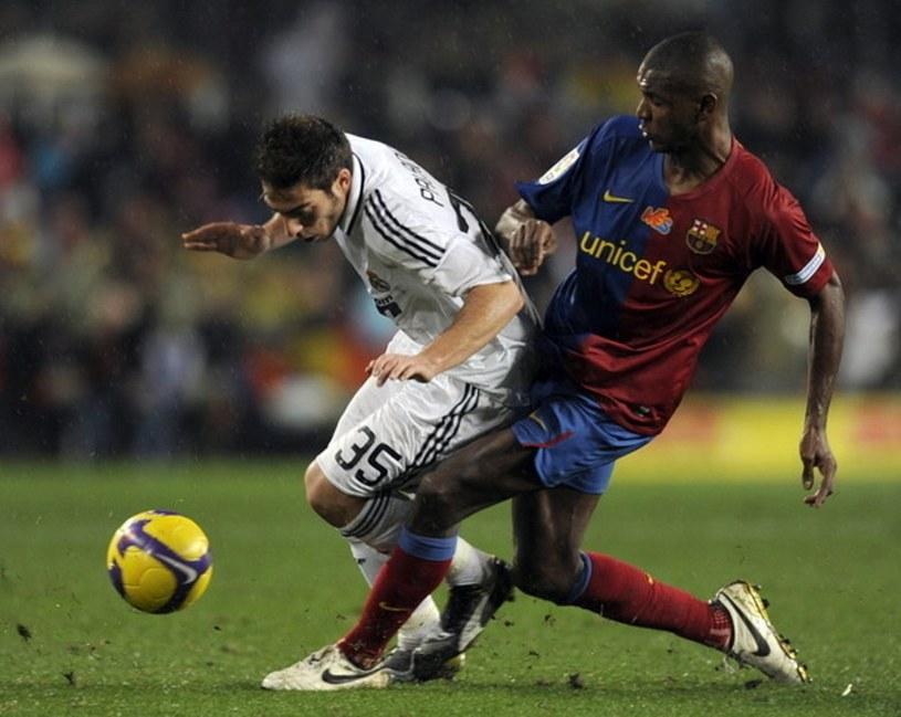 Miguel Palanca (z lewej) tu jeszcze w koszulce Realu Madryt /AFP