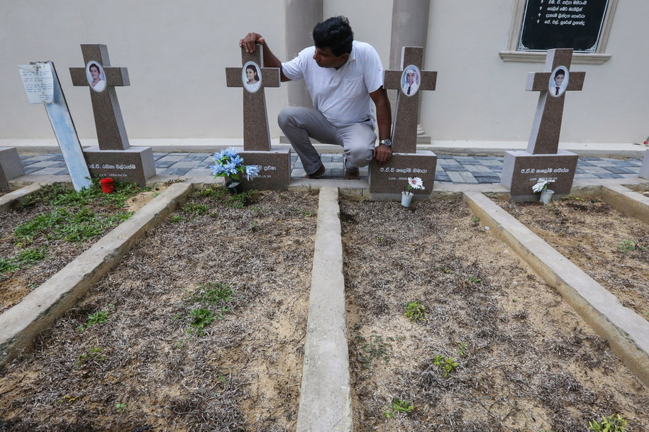 Mija rok od tragicznej Wielkanocy na Sri Lance /CHAMILA KARUNARATHNE /PAP/EPA