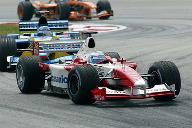 Mika Salo podczas GP Malezji (kliknij) /INTERIA.PL