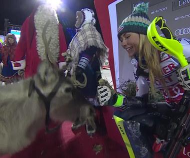 Mikaela Shiffrin wygrała slalom w Levi. Wideo