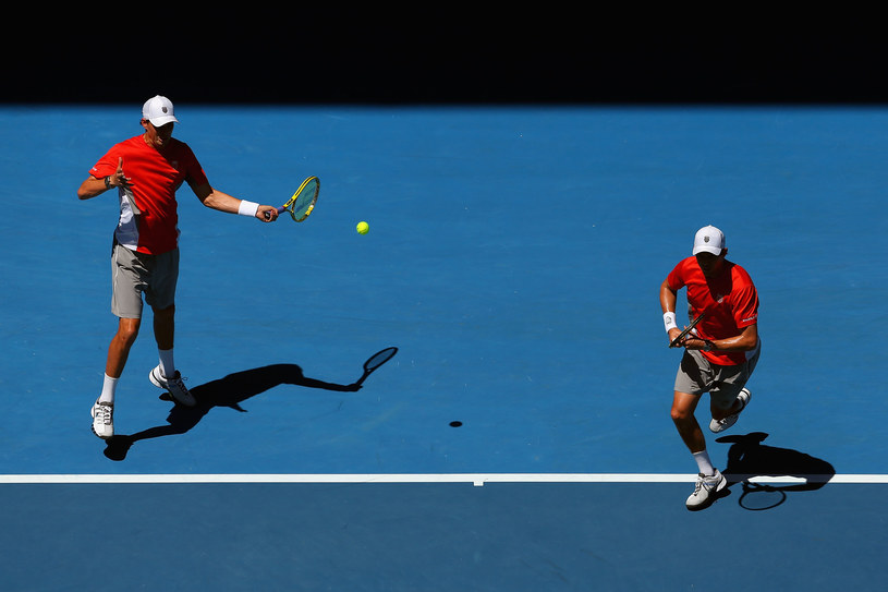 Mike Bryan i Bob Bryan /Julian Finney /Getty Images