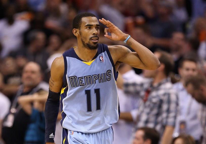 Mike Conley z Memphis Grizzlies /AFP