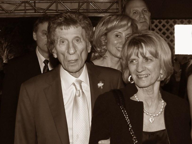 Mike Ilitch i jego żona Marianna. /AFP