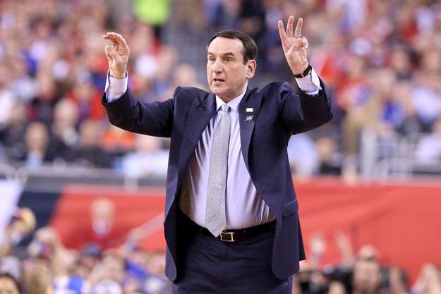 Mike Krzyzewski, popularny w USA trener koszykówki, marszałkiem parady trzeciomajowej fot. Streeter Lecka /AFP
