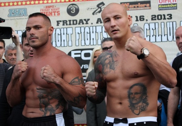 Mike Mollo i Artur Szpilka, Fot Fonfara Team /bokser.org