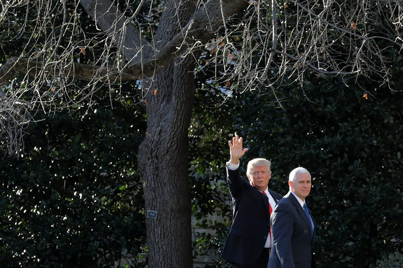 Mike Pence i Donald Trump /PAP/EPA