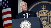 Mike Pence: Nasze zaangażowanie jest niezachwiane