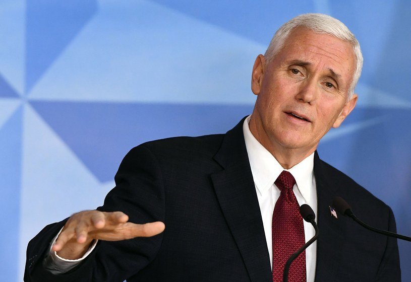 Mike Pence /EMMANUEL DUNAND /AFP