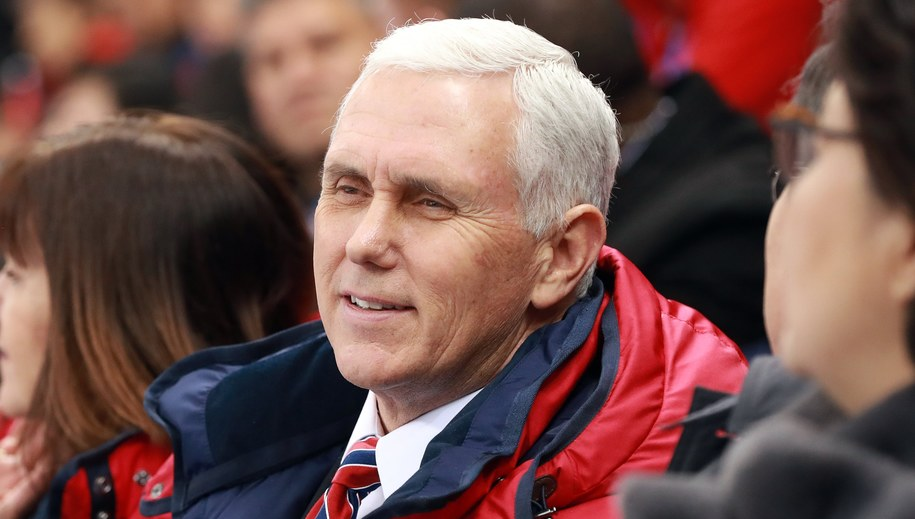 Mike Pence /HOW HWEE YOUNG /PAP/EPA