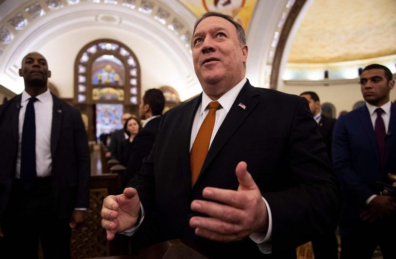 Mike Pompeo /ANDREW CABALLERO-REYNOLDS/AFP /East News