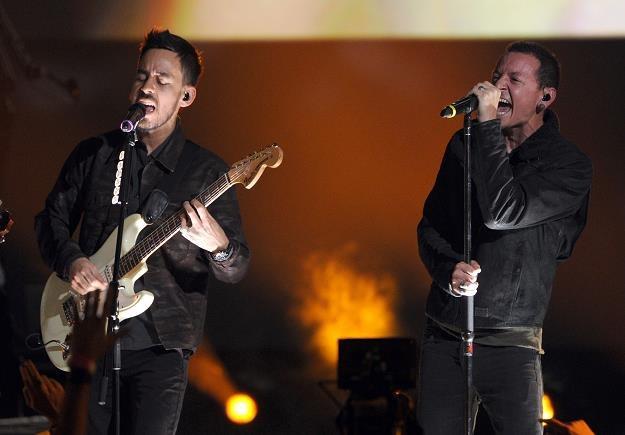 Mike Shinoda i Chester Bennington: Linkin Park znów w remiksie fot. Kevin Winter /Getty Images/Flash Press Media