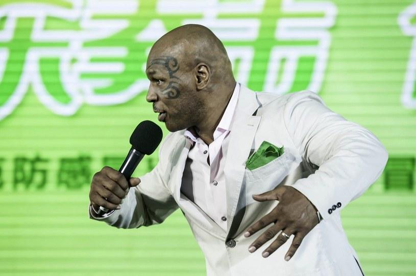 Mike Tyson, najmłodszy mistrz świata wagi ciężkiej (20 lat, 4 miesiące i 22 dni) w historii boksu /AFP