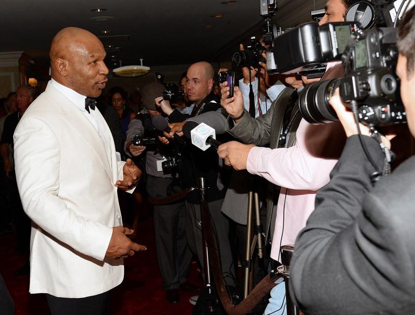 Mike Tyson w agresywnego pięściarza zamienił się w dżentelmena /AFP