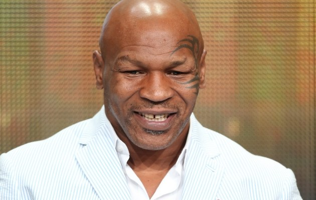 Mike Tyson /- /Getty Images