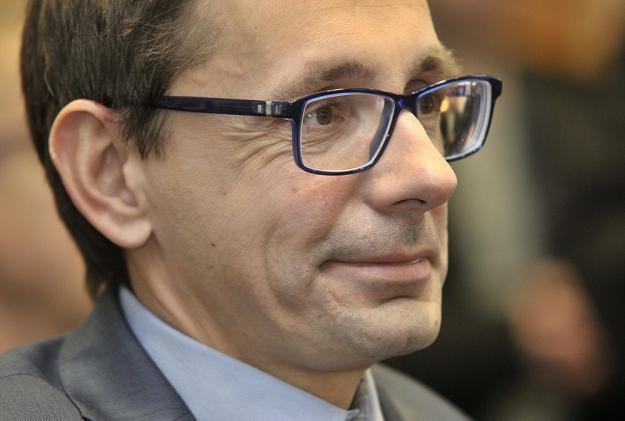 Mikołaj Budzanowski, b. minister skarbu. Fot Przemek Świderski /Reporter