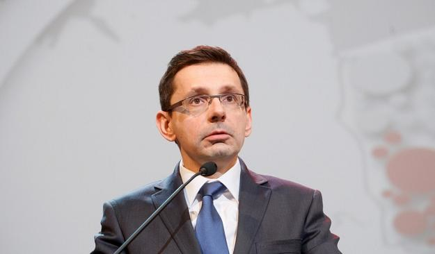 Mikołaj Budzanowski, minister skarbu. Fot. Adam Guz /Reporter