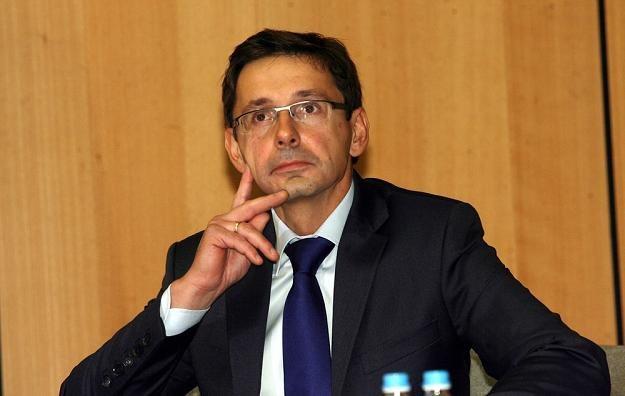 Mikołaj Budzanowski, minister skarbu. Fot. Artur Barbarowski /Agencja SE/East News
