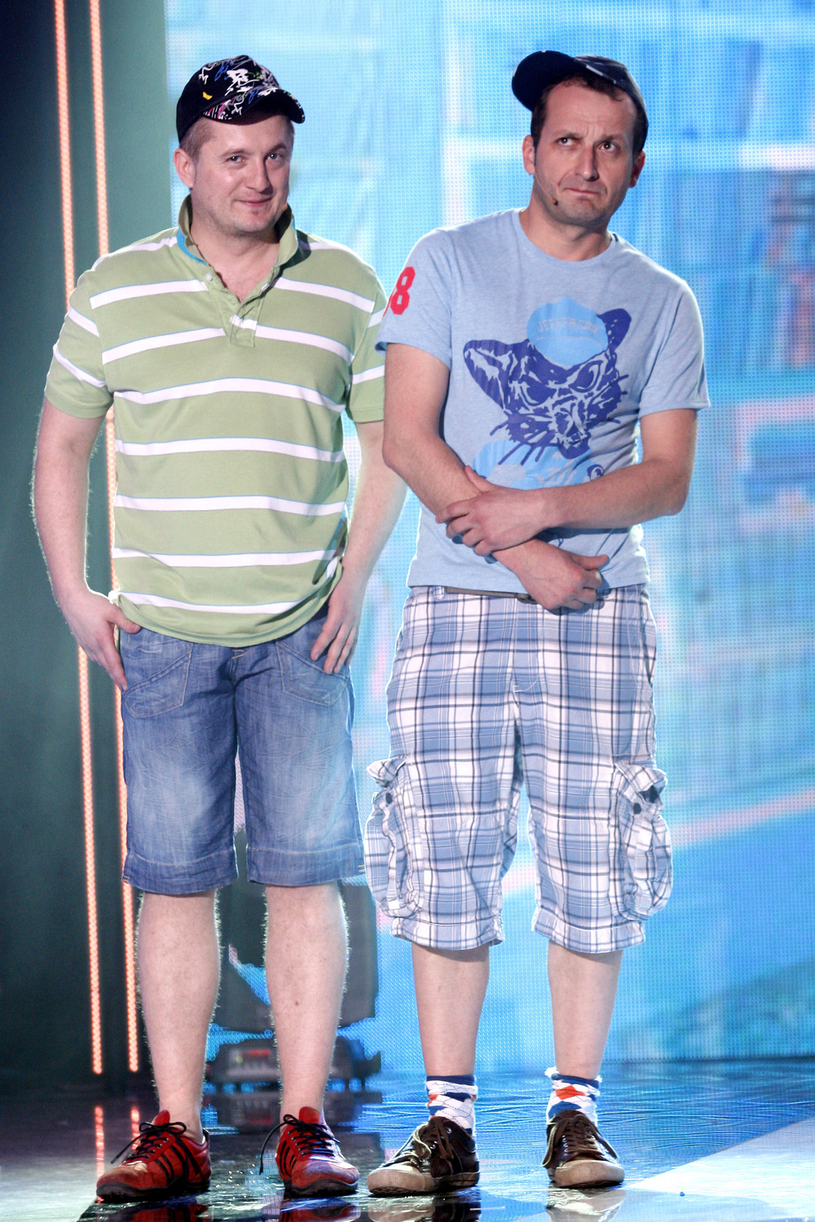 Mikołaj Cieślak i Robert Górski w 2009 roku /AKPA