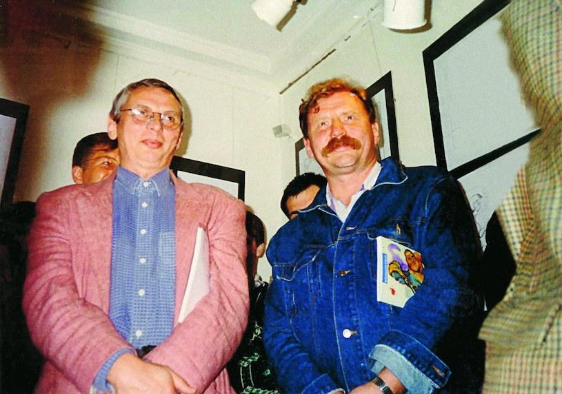 Mikołaj i Andrzej Grabowscy, rok 1995 /archiwum prywatne