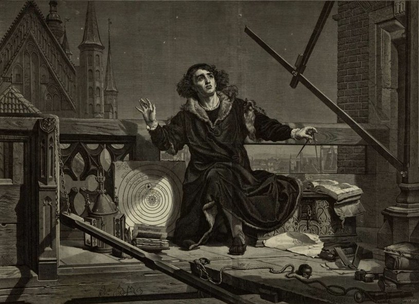 Mikołaj Kopernik /Biblioteka Narodowa