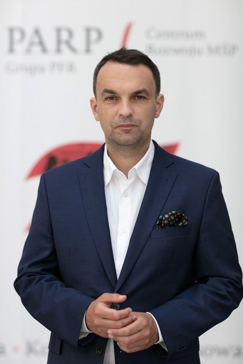 Mikołaj Różycki, p.o. prezesa PARP /materiały promocyjne