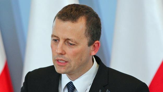 Mikolaj Wild, sekretarz stanu w KPRM, pelnomocnik rzadu ds. CPK Fot. Robert Ostrowski /Agencja SE/East News