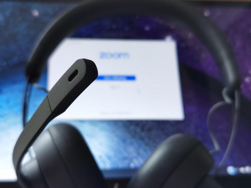 Mikrofon w Logitech Zone Wired sprawdza się doskonale /INTERIA.PL