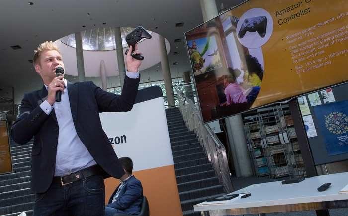 Mikrokonsola Amazon Fire - po raz pierwszy oficjalnie zaprezentowana w Polsce /materiały prasowe