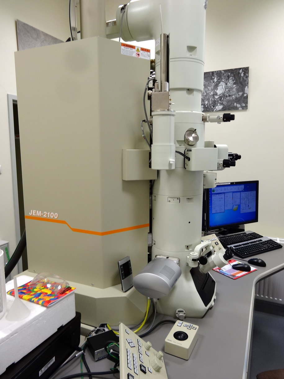 Mikroskop elektronowy /Grzegorz Jasiński /RMF FM