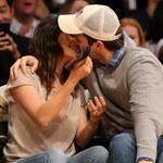 Mila Kunis i Ashton Kutcher razem na meczu
