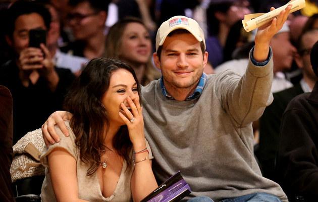Mila Kunis i Ashton Kutcher wzięli ślub! /Stephen Dunn /Getty Images