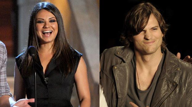 Mila Kunis i Ashton Kutcher /AFP