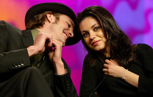 Mila Kunis i Ashton Kutcher /Kevin Winter /Getty Images