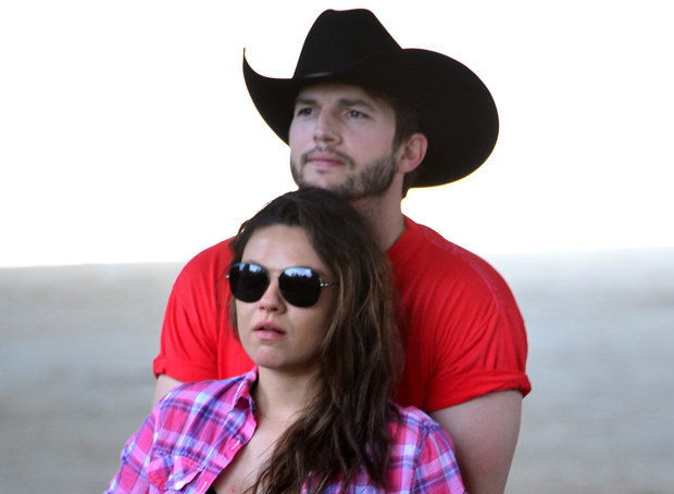 Mila Kunis i Ashton Kutcher /Getty Images
