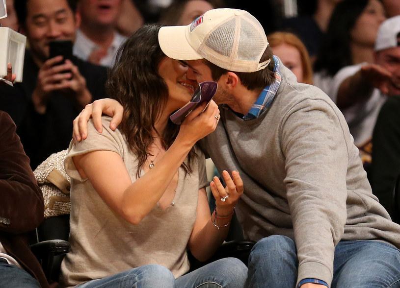 Mila Kunis i Ashton Kutcher /Stephen Dunn /Getty Images
