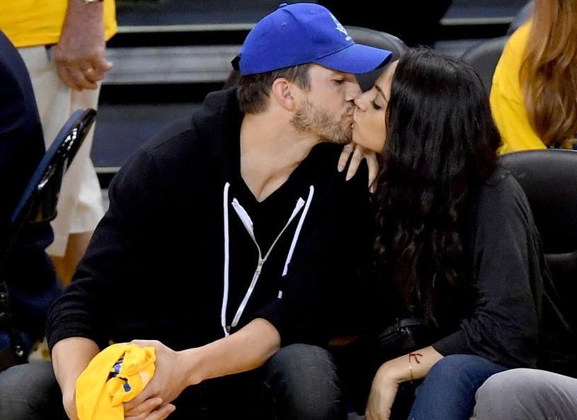 Mila Kunis i Ashton Kutcher /Getty Images