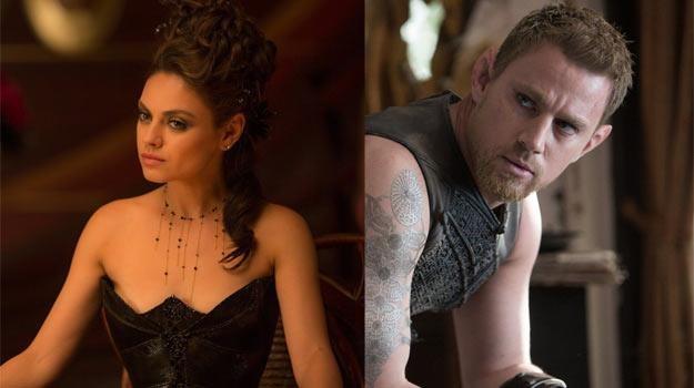 Mila Kunis i Channing Tatum przeszli w filmie rodzeństwa Wachowskich niemałą metamorfozę /materiały dystrybutora