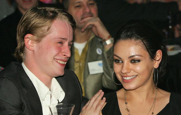 Mila Kunis i Macaulay Culkin, fot.Ethan Miller  /Getty Images/Flash Press Media
