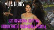 Mila Kunis o publicznym karmieniu piersią