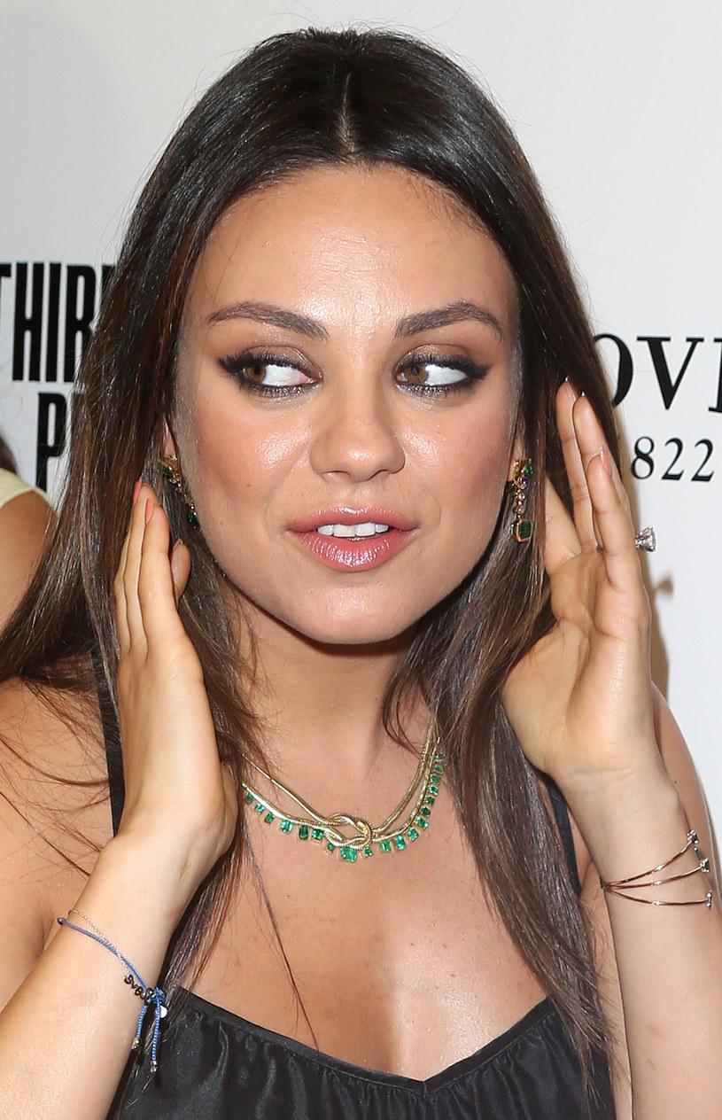 Mila Kunis sama niedawno została mamą /Frederick M. Brown /Getty Images