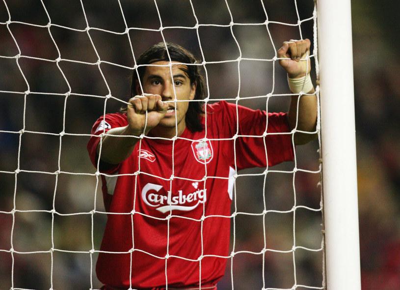 Milan Barosz z czasów gry w Liverpoolu /Getty Images