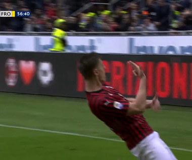 Milan - Frosinone. Przełamanie Krzysztofa Piątka! (ZDJĘCIA ELEVEN SPORTS) Wideo