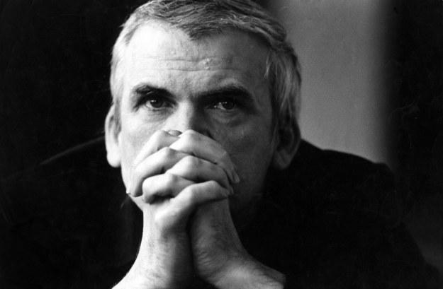Milan Kundera /PAP/DPA