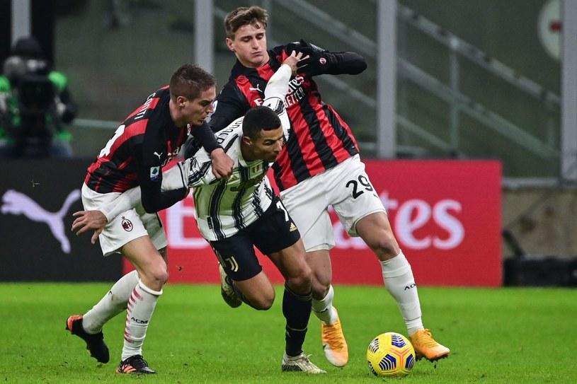 Milan nie sprostał Juventusowi /AFP