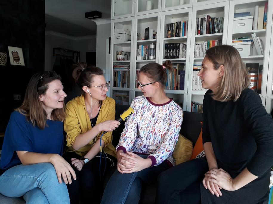 Milena Gauer, Katarzyna Staszko, Ela Malinowska i Paulina Wasilewska /