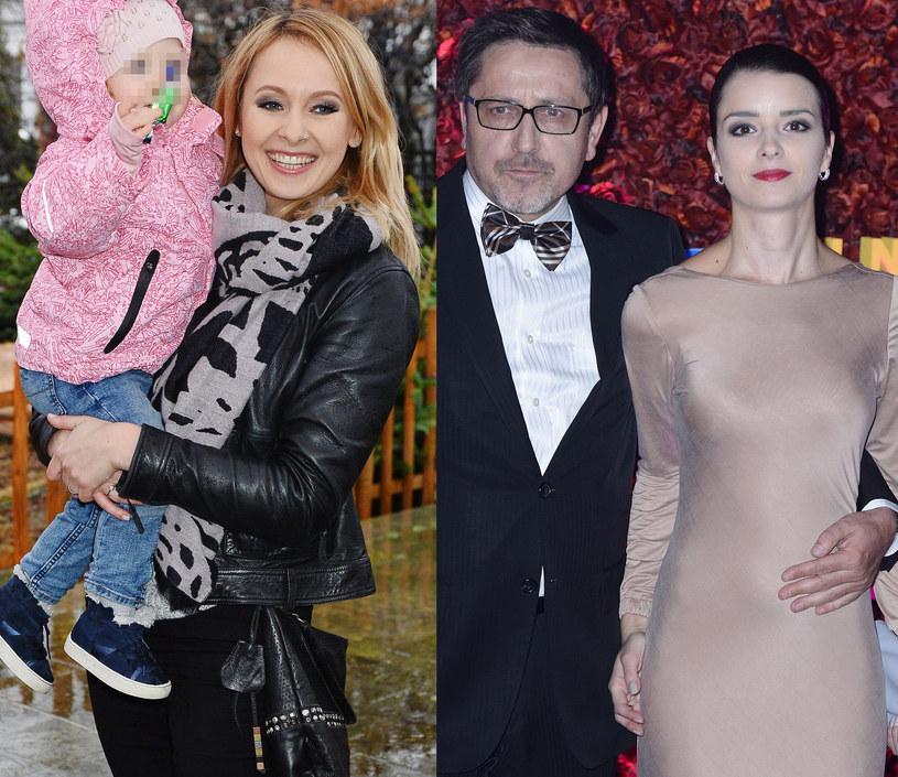 Milena Rostkowska-Galant, Andrzej Sołtysik z żoną Pati /Paweł Wrzecion, Jarosław Antoniak /MWMedia