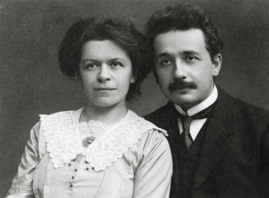 Mileva Maric and Albert Einstein /PAP/Photoshot